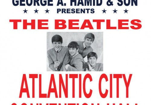 Beatles Poster Wildwood Crest