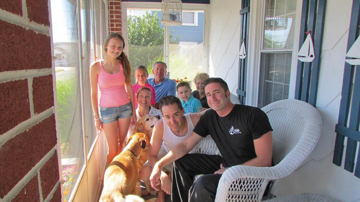 Al Loves family summer 14