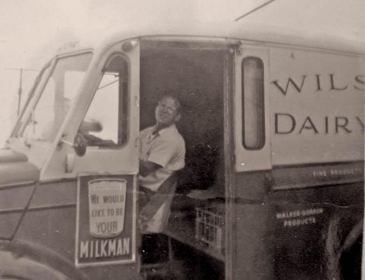 Wilson dairy truck