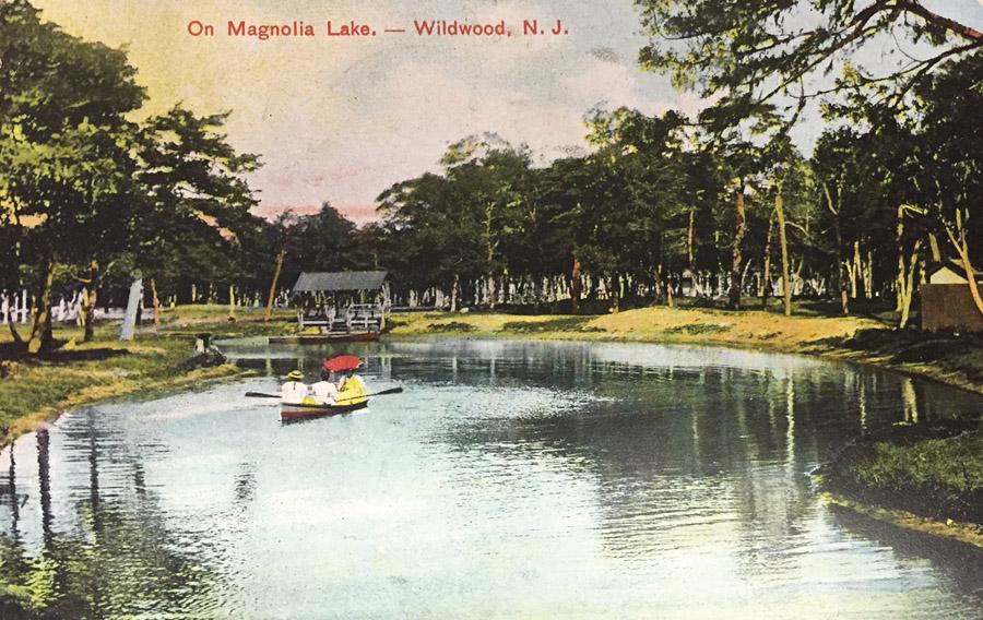 magnolia lake postacrd