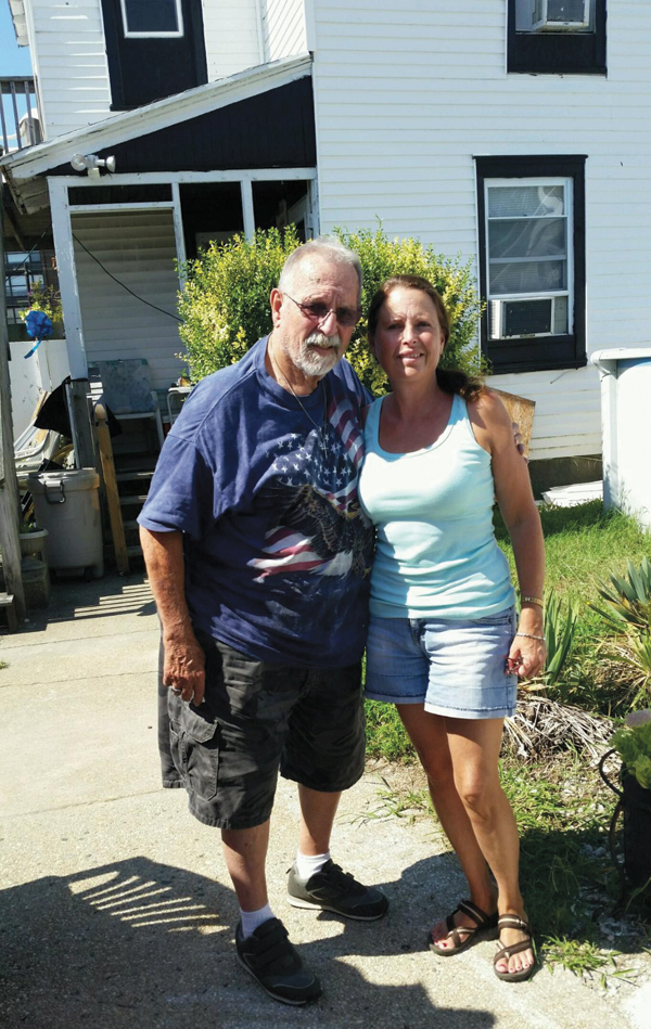 Bill Tschopp with daughter Donna  Koehler 122 W. Pine Ave., 2016