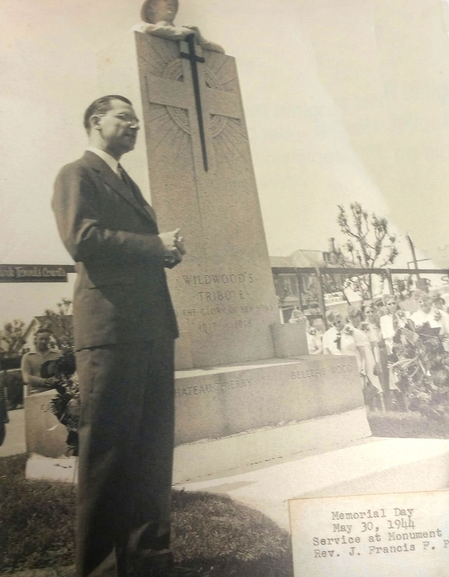 Memorial Day Service 1944 Rev. J. Francis F. Peak